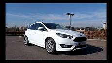 2015 ford focus 1 0t ecoboost 125 zetec s start up and