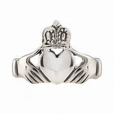 sterling silver irish claddagh wedding ring s addiction 174