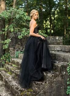 paint it black our favorite black wedding dresses