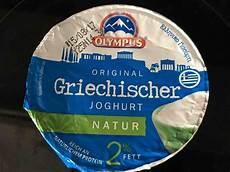 Griechischer Joghurt Kalorien - olympus griechischer joghurt natur 2 kalorien neue
