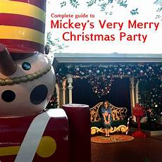 2019 mickey s very merry christmas party map best dates touring plan