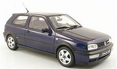 volkswagen golf 3 vr6 blau ottomobile modellauto 1 18