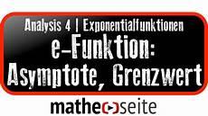 exponentialfunktion asymptote und grenzwert berechnen a