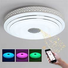 bule time intelligence color changing led ceiling light