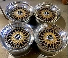 Bbs Rs 17x9 5 24 17x10 5 21 Gold Griplow Jdm Wheels