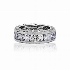 platinum oval round brilliant diamond eternity wedding