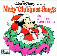 disney merry christmas songs 29 all time favorites disney studios 2 record for the price