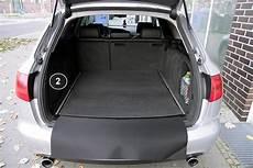 Audi A6 Avant Kofferraum Maße - 3 teilige kofferraummatte mit ladekantenschutz f 252 r audi a6