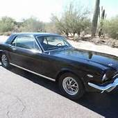 1967 Ford Mustang Fastback GT 390 4spd Rare Raven Black W