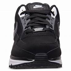 nike air max ltd running sneakers in black white grey