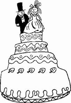 Gratis Malvorlagen Hochzeit Vierstoeckige Torte Ausmalbild Malvorlage Hochzeit