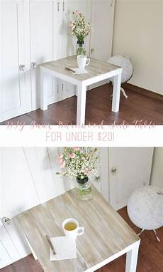 Ikea Lack Tisch Diy - diy faux barnwood side table diy crafts diy home