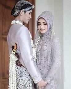 30 Model Kebaya Pengantin Muslim Modern Jawa Desain