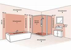 fliesenersatz im bad die schutzbereiche im bad leuchten sicher installieren le magazin