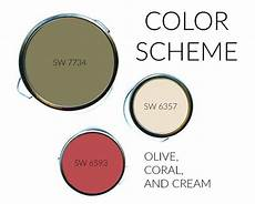 color scheme olive coral and outdoor paint colors olive green bathrooms paint colors