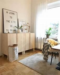 ikea hack ivar als sideboard arrangiert dekoration