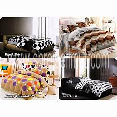 sprei fata minimalis uk king queen bahan katun microtex shopee indonesia