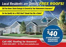 13 brilliant roofing direct mail postcard advertising exles commercial residential roofers