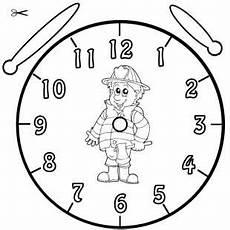 Uhr Vorlage - kostenlose malvorlage uhrzeit lernen die uhr lernen
