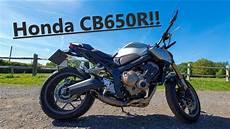 Review Honda Cb650r