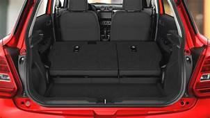 Suzuki Swift 2017 Dimensions Boot Space And Interior