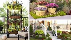 Apartment Patio Container Garden by 20 Creative Garden Ideas And Landscaping Tips