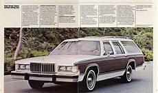 old car manuals online 1984 mercury grand marquis auto manual 1984 mercury grand marquis brochure