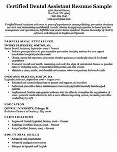 dental hygienist resume sle writing tips resume companion