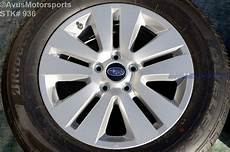 2016 subaru outback oem 17 quot factory wheels p225 65r17