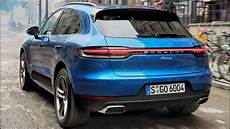 2019 porsche macan gts 2019 blue porsche macan sports car in the suv segment