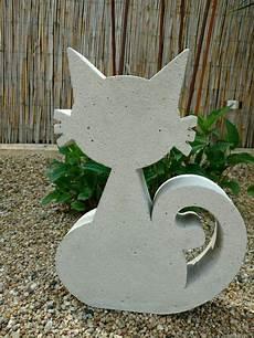Weiteres Giessform Beton Neckische Katze 35 Cm Ein
