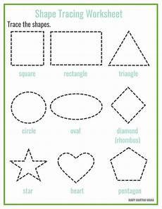 shapes worksheets for pre nursery 1208 shapes worksheets for preschool free printables shape tracing worksheets free preschool