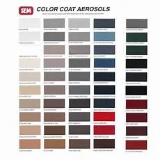 sem color coat color card chart for plastic vinyl coatings 844998105657 ebay