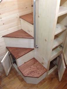 Tinyhousedarling Spiral Staircase From