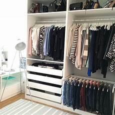 offenen schrank ikea pax wardrobe closet decor