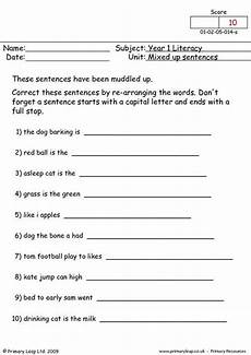worksheets letter mix up 24280 primaryleap co uk mixed up sentences 1 worksheet learning a different way literacy