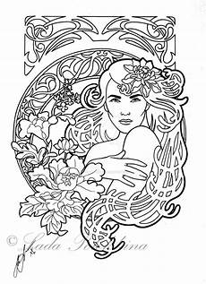 190 best images about nouveau coloring pages on