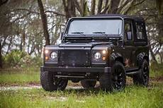 corvette engined land rover defender 90