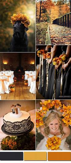 five awesome fall wedding colors in shades of black elegantweddinginvites com blog