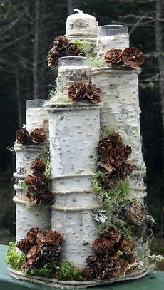 deko mit birke pin birkendoc auf dekoration birkenholz deko