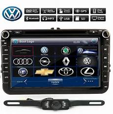 vw 8 quot 2 din car radio stereo dvd player gps
