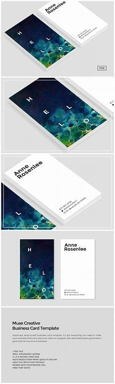 muse business card template business card templates