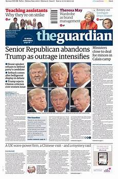 tuesday s guardian front page senior republican abandons