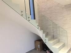 Garde Corps Tout Verre Pour Un Escalier D Int 233 Rieur Design