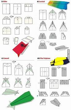 12 Papierflieger Mit Faltanleitung Zum Nachmachen Papier