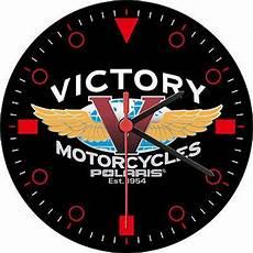 victory motorcycle polaris est 1954 decorative wall clock bikes pinterest cars places