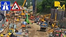 Liebherr Komatsu Bagger Mega Autobahn Baustelle 78 A7
