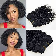 short hair brazilian curly weave alibaba 7a brazilian remy afro kinky virgin hair 6pcs brazilian short natural black kinky curly afro