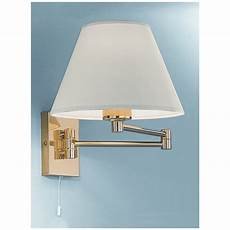franklite polished brass swing arm wall light wb128 9004