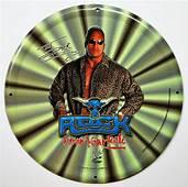 Dwayne Johnson The Rock Know Your Role Vintage Tin Metal